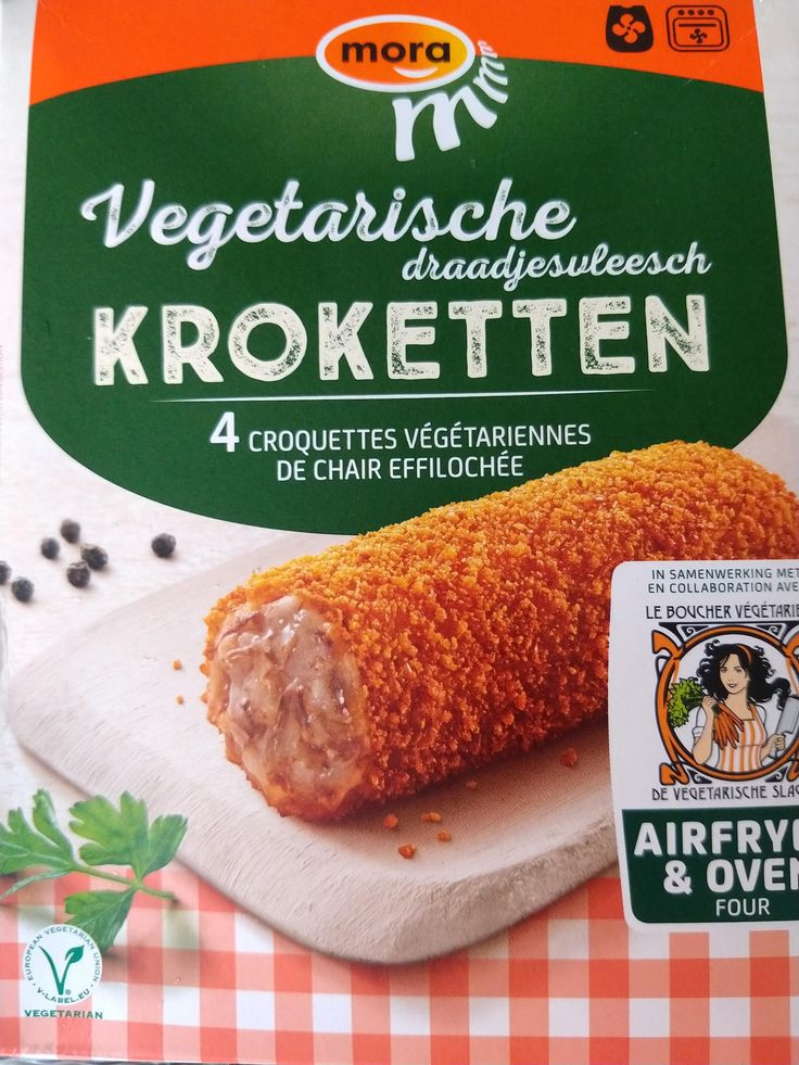 Mmmm Van Mora Veggie Kroketten Vegan Fitness Kroket Food
