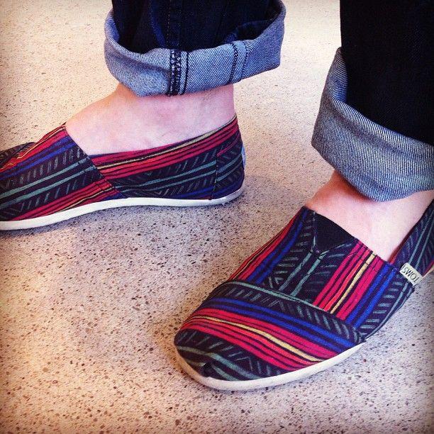 Love Alessandro's tribal footwear! @alessandromusic