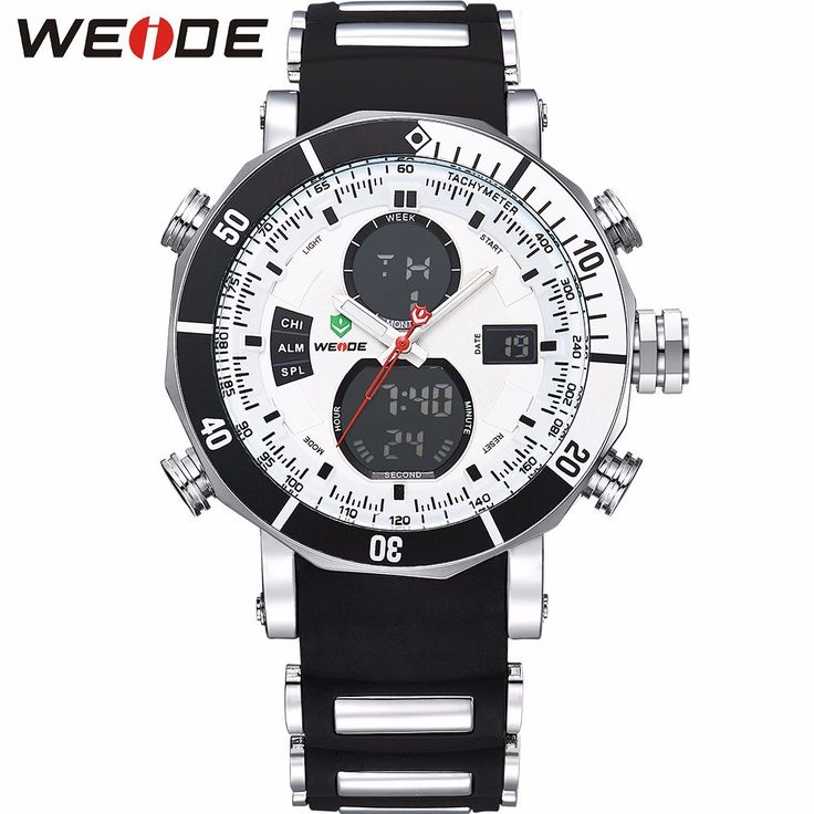 WEIDE Men Sports Watches Waterproof! http://mobwizard.com/product/weide-men-sports/  #watch #watches #man #classic #2016 #squartz #waterproof