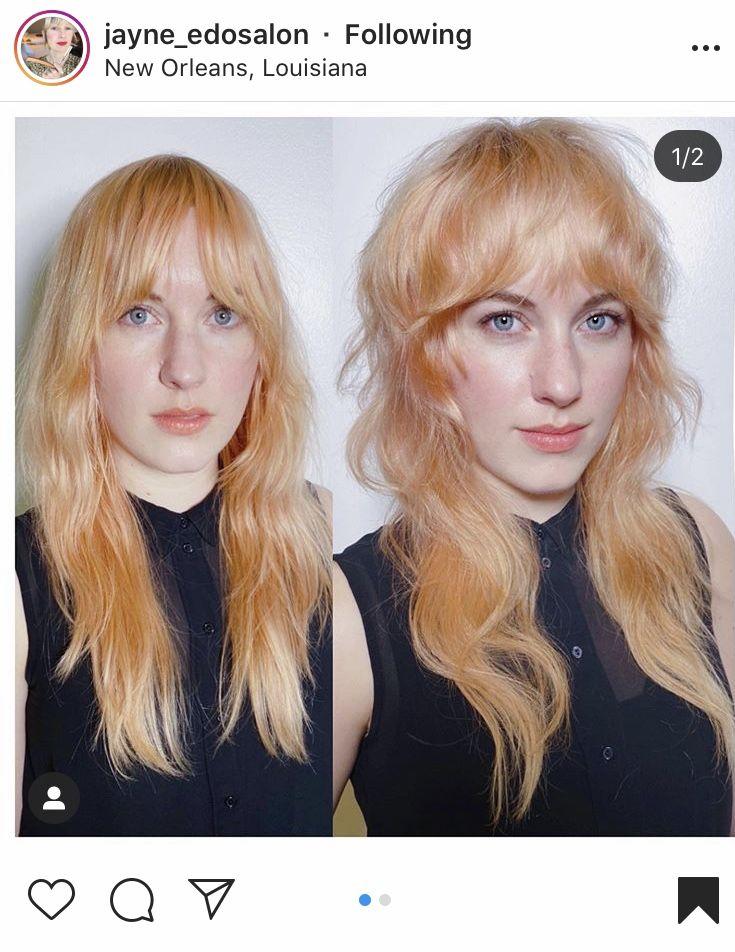 Curtain Fringe Bohemian Hairstyles Punky Hair Grunge Hair