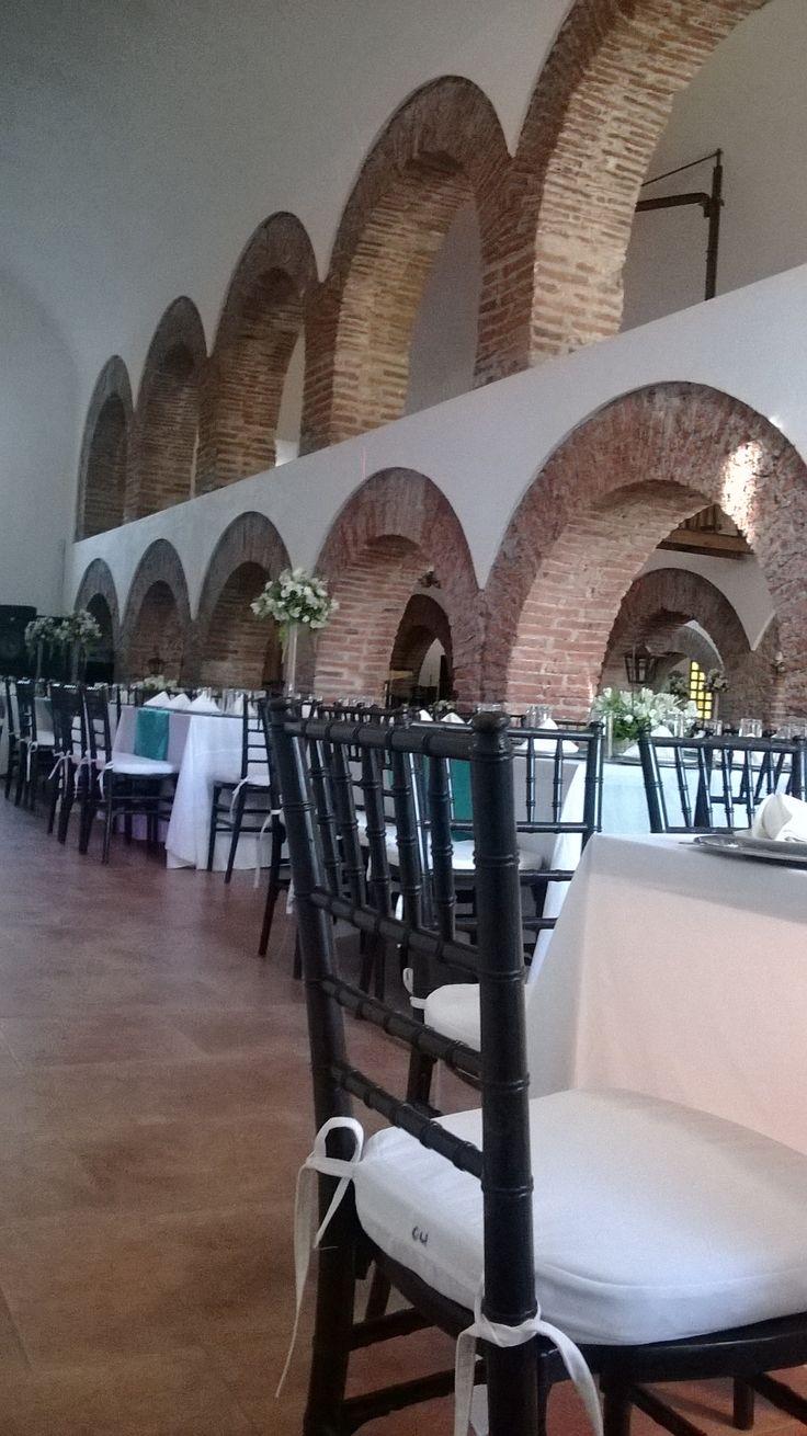 Detalle de silla para boda