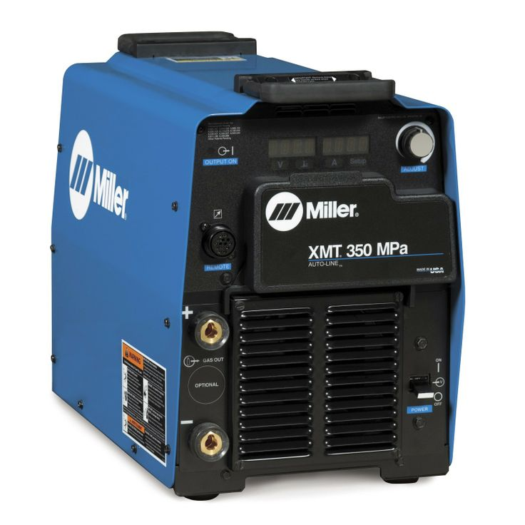 miller multiprocess | Miller XMT 350 MPa Multiprocess Welder with Auxiliary Power (907366011 ...