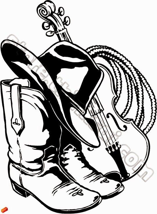 17 Best ideas about Cowboy Hat Drawing on Pinterest | Cowboy hats ...