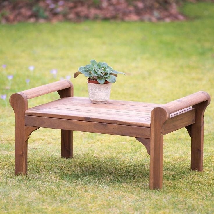 Plant Table Theatre Garden Coffee Footstool Bench High Quality Elegant