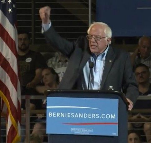 I'll see you all at the new location in the convention center unless it gets bigger and moves to another location. ----------------------------------- Bernie Sanders' Red State Revolution Causes 2 SC Rallies To Move To Bigger Venues