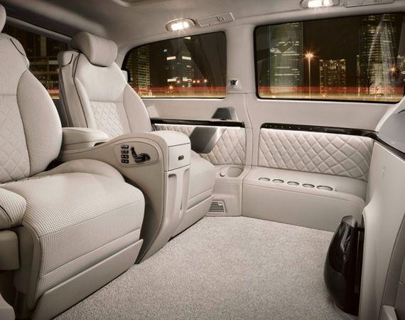 25 best ideas about luxury van on pinterest for Mercedes benz van interior