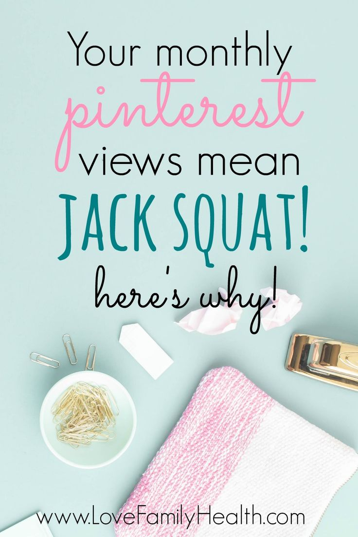 Your Monthly Pinterest views mean JACK SQUAT! Here's why!