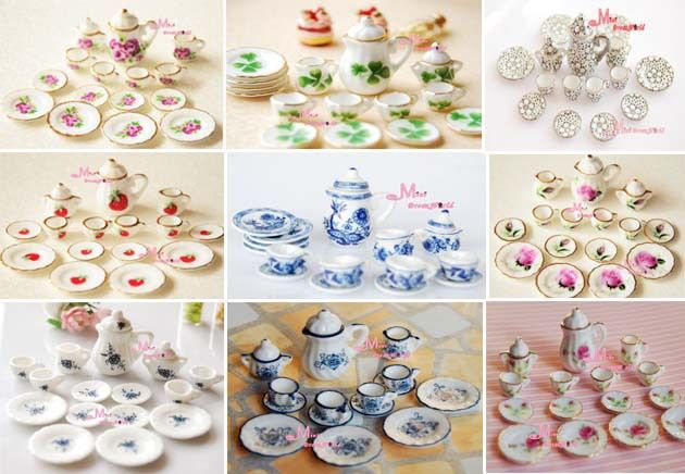 Find More Dolls Accessories Information about Free Shipping!Lot of 15pcs Tea Cup Set NEW Dining Dish Plate ~ 1/12 Scale Dollhouse Miniature Furniture For Doll China Toy,High Quality furniture dinette,China plate jewellery Suppliers, Cheap furniture spring from Minizhu SH Trade Co LTD's store on Aliexpress.com