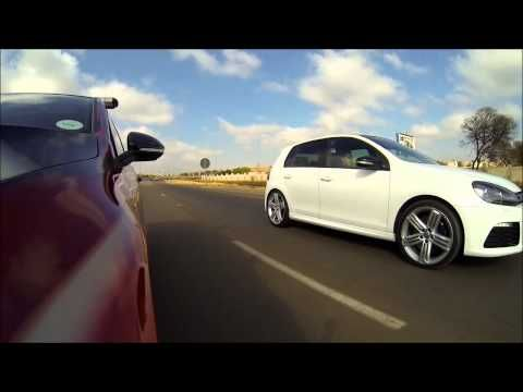 Golf 7 GTI (CHIPBOX®) VS Golf 6 R (Stock)