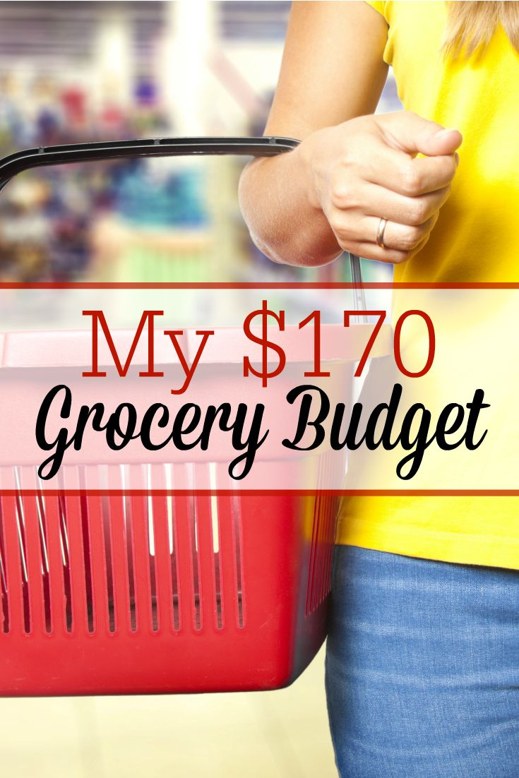 1 family of 4 spent just $170 for a month of groceries! Here's how they made it work, along with a sample menu plan! Cutting back on grocery spending helped them pay off student loans...