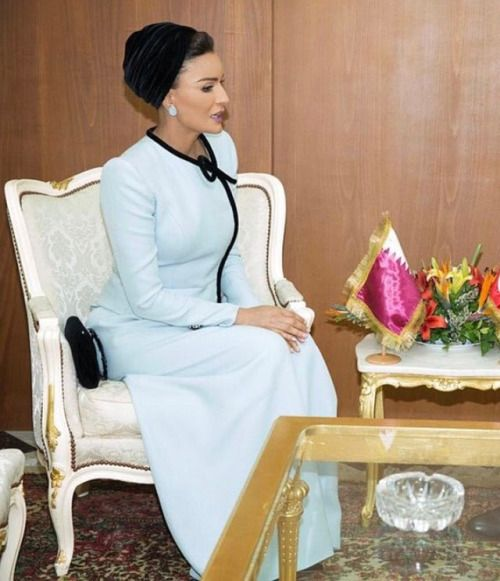 Her Highness today met with Tunisia's Prime Minister, H.E...