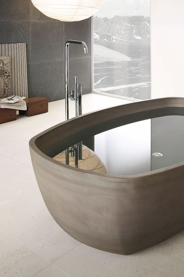 Maestro bath slide front page - Inkstone Bathtub Asian Beauty By Steve Leung Designers And Wisdom For Well Being Sooo Much Better Than Those Jet Tubs