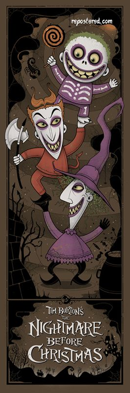 The Nightmare Before Christmas - Repostered