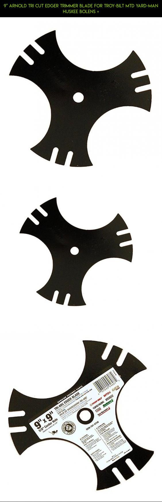 """9"""" Arnold Tri Cut Edger Trimmer Blade for Troy-Bilt MTD Yard-Man Huskee Bolens + #men #gadgets #trimmers #for #camera #technology #fpv #tech #products #shopping #kit #drone #parts #racing #plans"""