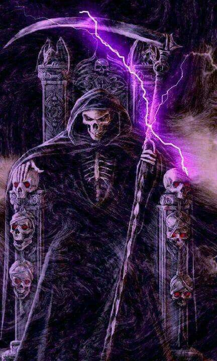 Purple is a becoming color for the Reaper!