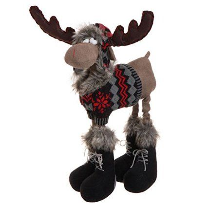 Christmas moose, oh gosh he is cute!!