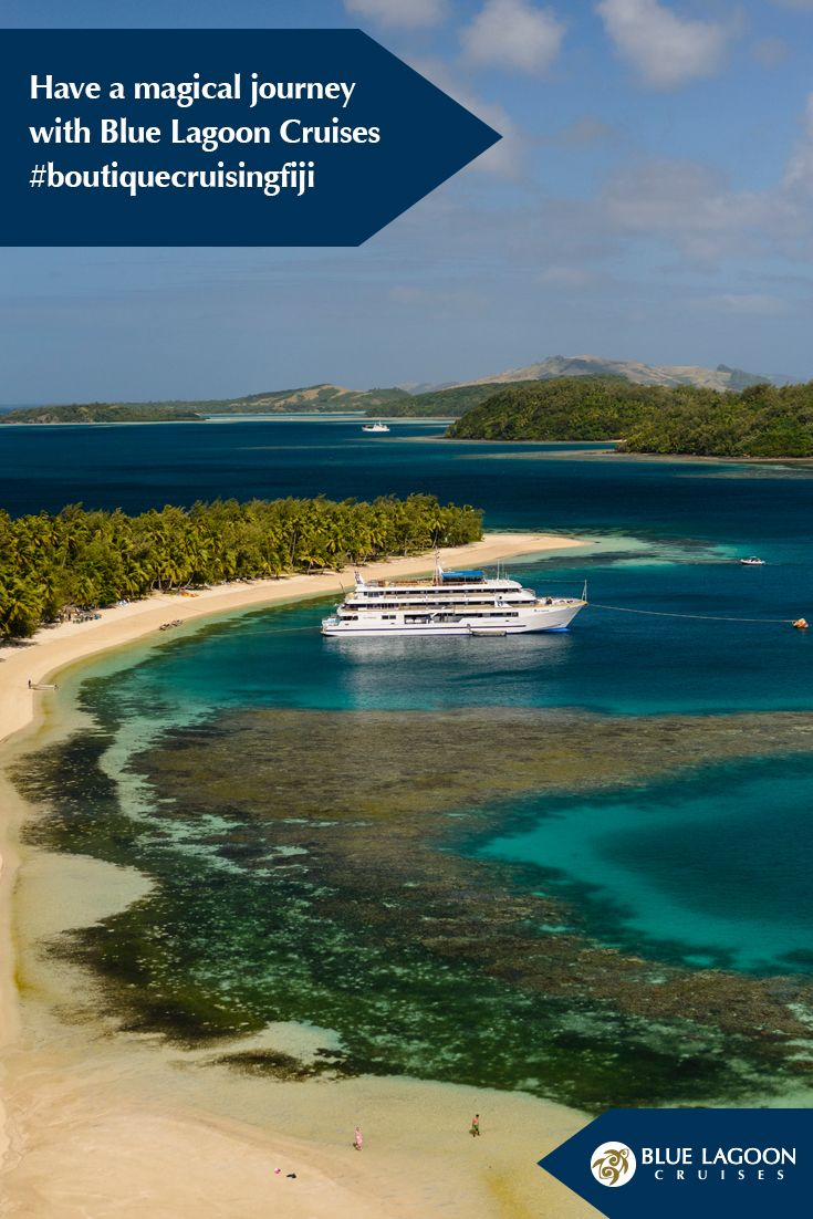 Blue Lagoon Cruises offer three #boutique #itineraries, each taking you on a #journey into Fiji's spectacular #Mamanuca and #Yasawa #Islands. #Sail to uninhabited #tropical islands, anchor in private #lagoons, spend countless hours lazing on golden #beaches and #swim, #snorkel or #dive in clear blue waters. #cruising #Fiji #holiday #vacation #Pacific #Island #destination #wedding