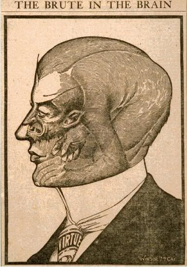 The Brute in The Brain by Winsor McCay
