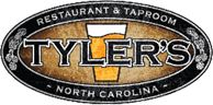 Tyler's Taproom...many, MANY beers on tap
