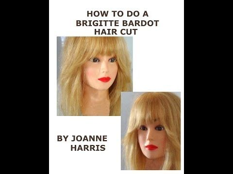 ▶ How to do a Brigitte Bardot Hair Cut Easy Simple with my original pinch cut method Sexiest ever! - YouTube