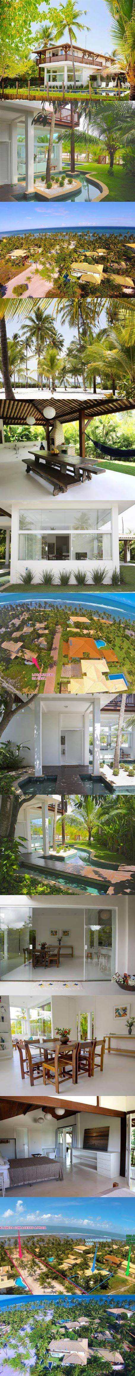 Praia do Forte - Casa Recém Construída E Reformada   Veja mais aqui - http://www.imoveisbrasilbahia.com.br/praia-do-forte-casa-recem-construida-e-reformada-a-venda