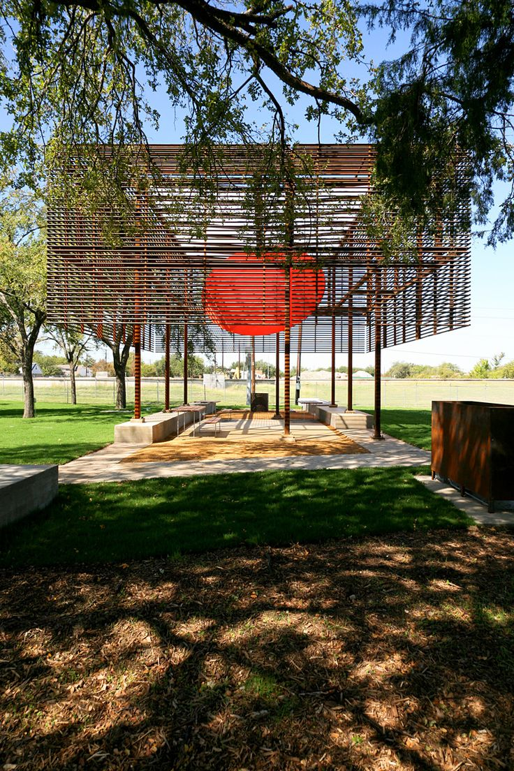 Pavilion at Cotillion Park | Mell Lawrence Architects; Photo: Mell Lawrence | Bustler