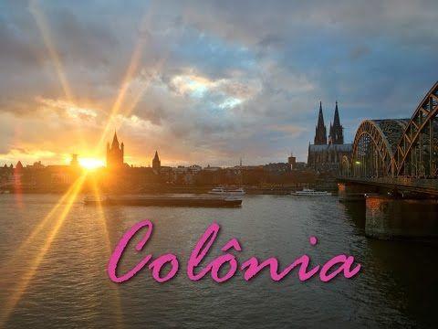 Guia de viagem e dicas de Turismo em Colônia, Alemanha! Mercado de Natal, museu do chocolate Lindtt e ponte dos cadeados!