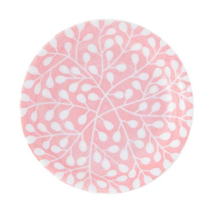 小皿 リーフ ピンク(ピンク) Francfranc(フランフラン)公式サイト 家具、インテリア雑貨、通販