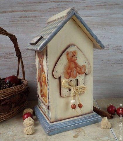 """Кухня ручной работы. """" Family Teddy """" чайный домик. Ирина Амбарова """"Милый, милый дом"""". Ярмарка Мастеров."""