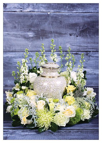 Created by Gina Prokipchuk for the September/October 2013 issue of Canadian Florist.