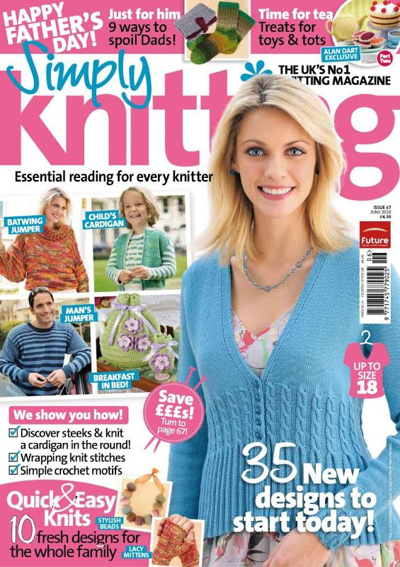 Simply Knitting Magazine : Best knitting mags simply images on pinterest crochet magazine books
