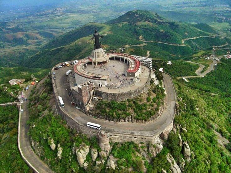 Guanajuato, Guanajuato, Mexico - Cristo Rey mountain