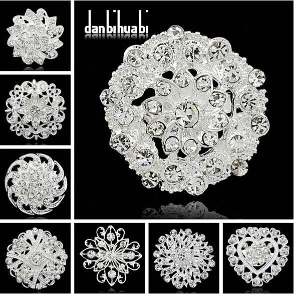 summer style scarf brooch casamento rhinestone broche vintage silver bouquet broches jewelry ballet brooches mujer