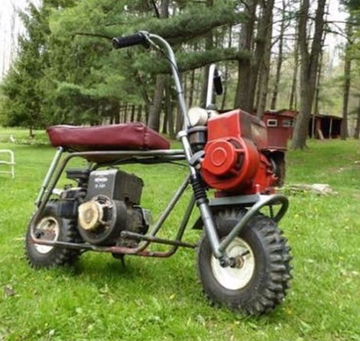 Nice Twin Engine, Two Wheel Drive Toat Goat. MinibikeMotorized BicycleMotorcycle  ...