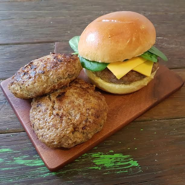 Moist Burger Patties