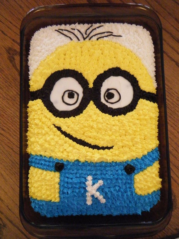The minion cake by ~TwoDragonInLove on deviantART