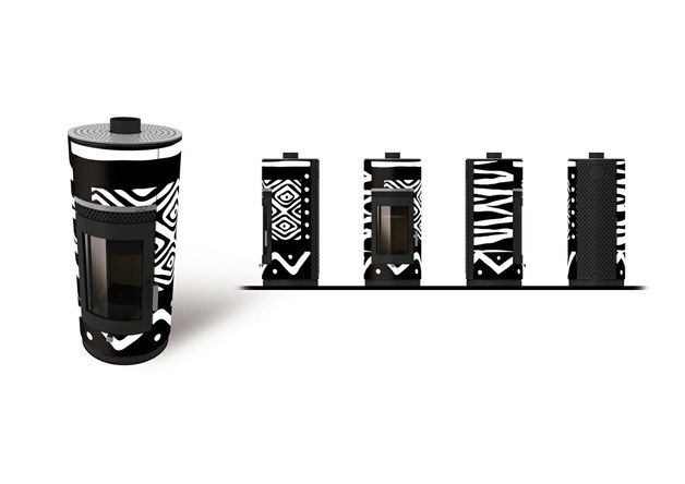 "Woodstyle ""Design Individual - Ethnic black and white"""
