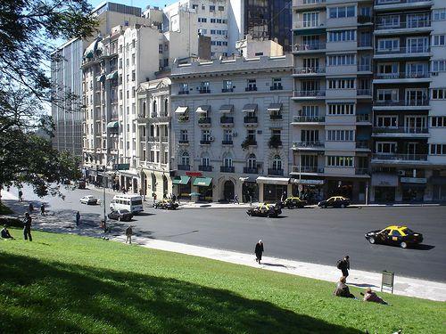 We Love #Buenos Aires: San Martín Street, #downtown