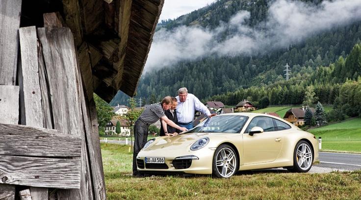 Porsche 911 Carrera S (2012) first ride with Walter Rohrl