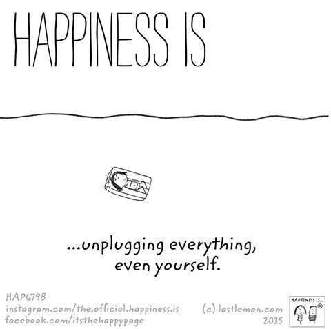 Happiness is (there's a whole series. We could do a series like this?)