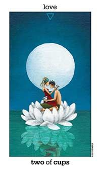 June 15 Tarot Card: Two of Cups (Sun and Moon deck) Let everything you do be expressed with love and unity now