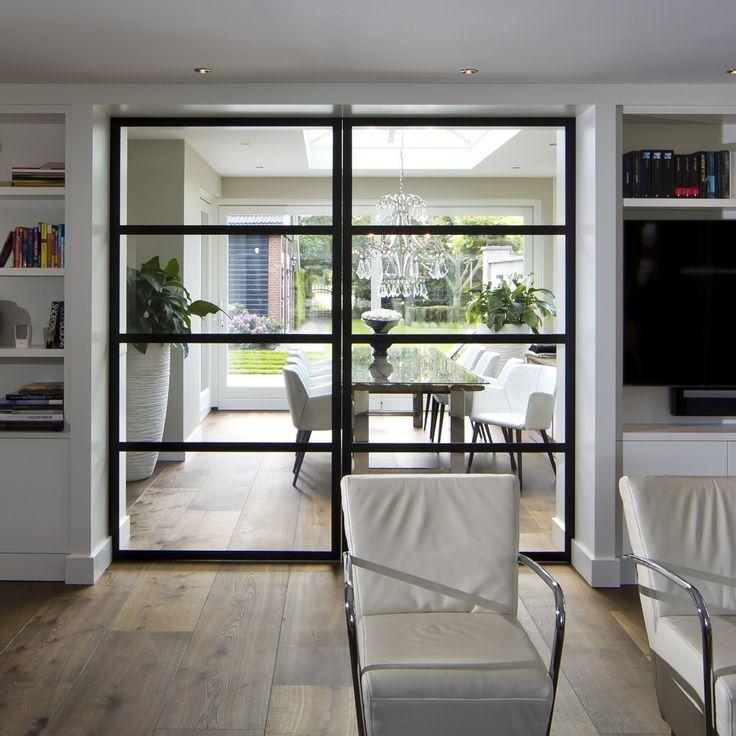 25 beste idee n over schuifdeuren op pinterest for Schuifdeuren woonkamer