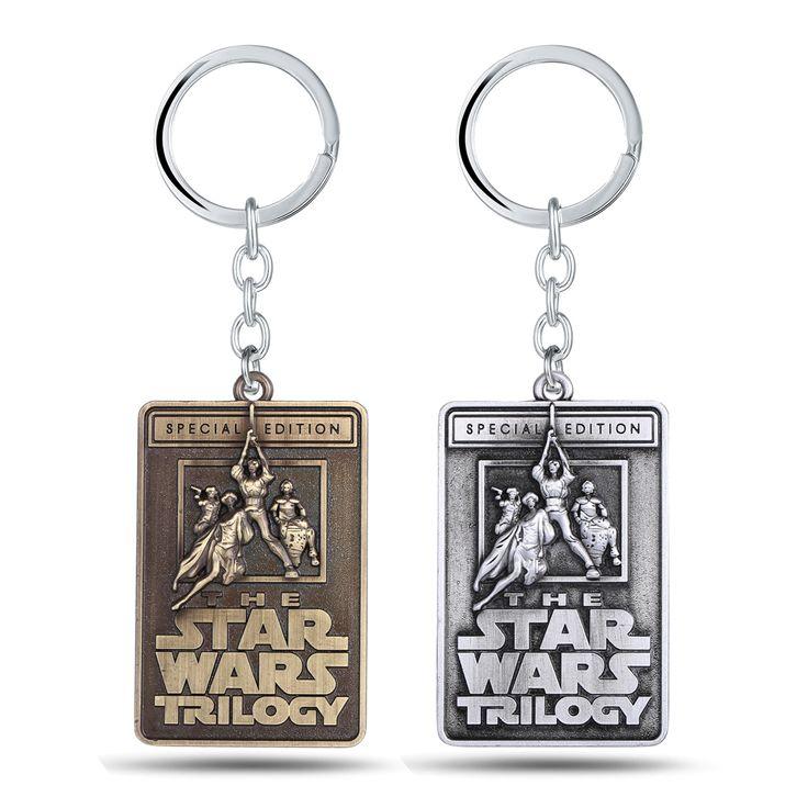 Star Wars Vintage Square Keychains
