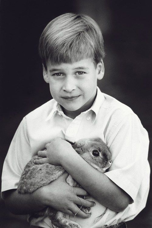 Prince William photographed by Patrick Demarchelier, which featured in the December 1989 issue of Vogue.