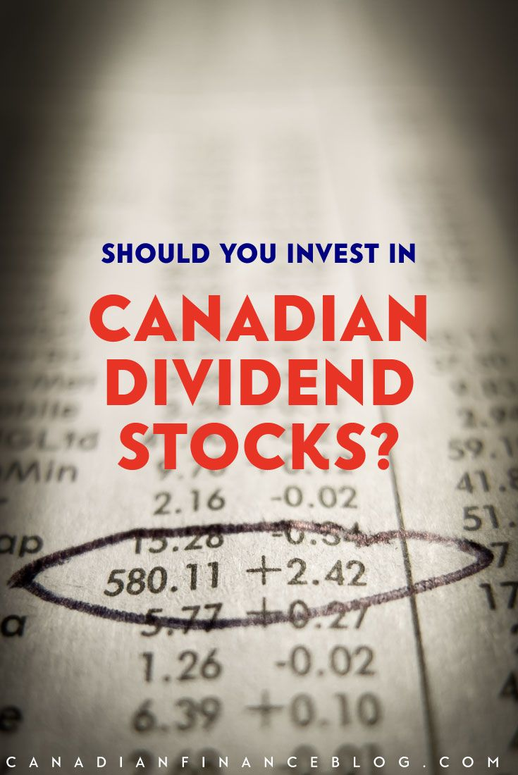 Should You Invest in Canadian Dividend Stocks?