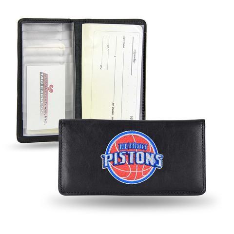 Detroit Pistons Checkbook Holder (Embroidered) #DetroitPistons