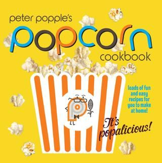 """Let Peter Popples – a young scientist who is just mad about all things popcorn – be your guide as he takes you & your children through 30 fun, delicious & easy recipes to create at home together.There's popcorn for picnics in the park, popcorn for party snacks, popcorn for movie nights at home and even popcorn that's perfect for the lunch box – plus fun facts to keep your kids entertained.Peter Popple's Popcorn Cookbook is an easy-to-use must for every family."" Click through to read online."