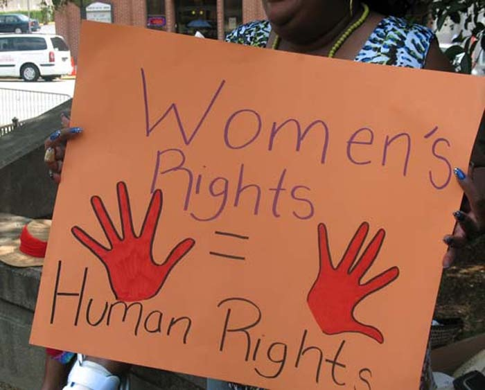 Women's Rights = Human Rights