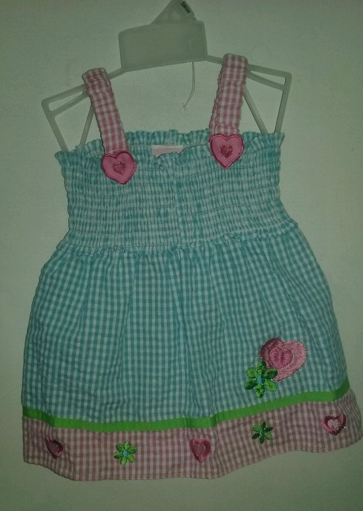 NWT - Very Cute- Mon Petit- girl's 24 months dress blue and pink #MonPetit…