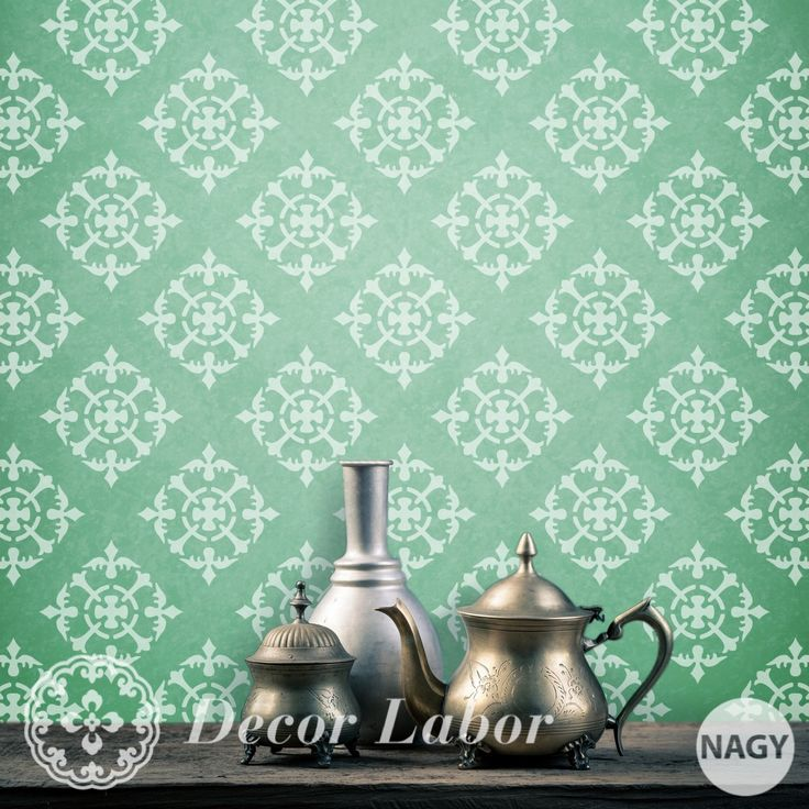 our stencils - french pattern http://decorlabor.hu/